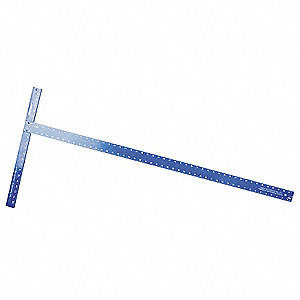 Drywall T-Square, 47 7/8 In, Aluminum