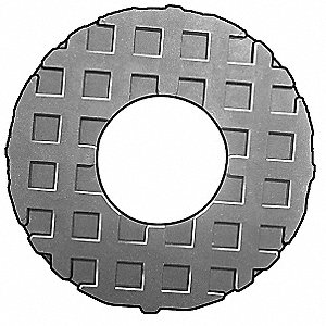 Washer,Waffle,5/8 In,0.312 Th,PK4