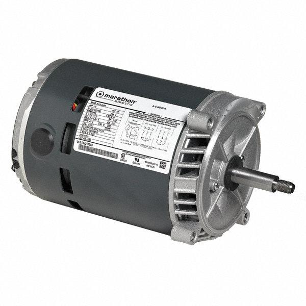 Marathon motors 1 hp jet pump motor 3 phase 1725 for Marathon electric motor replacement parts