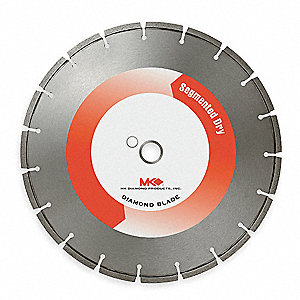 "10"" Wet/Dry Diamond Saw Blade, Segmented Rim Type"