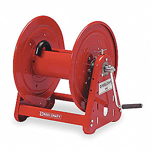 100 ft. Heavy Duty, Hand Crank, Air/Water Hand Crank Hose Reel
