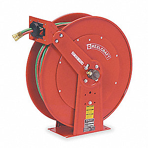 "24"" x 13"" x 25-3/8 Gas Welding Hose Reel&#x3b; For Acetylene, Mapp, Propane, Natural And Other Fuel Gases"