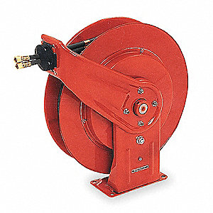 "3/8"", 50 ft. Spring Return Hose Reel, 2000 psi Max. Pressure"