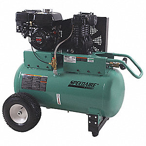 30 gal. 6.5 HP Barrel Portable Gas Air Compressor