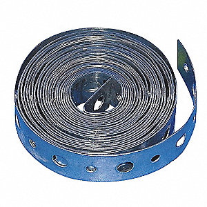 100ft Galvanized Steel Hanging Strap, 24 Gauge