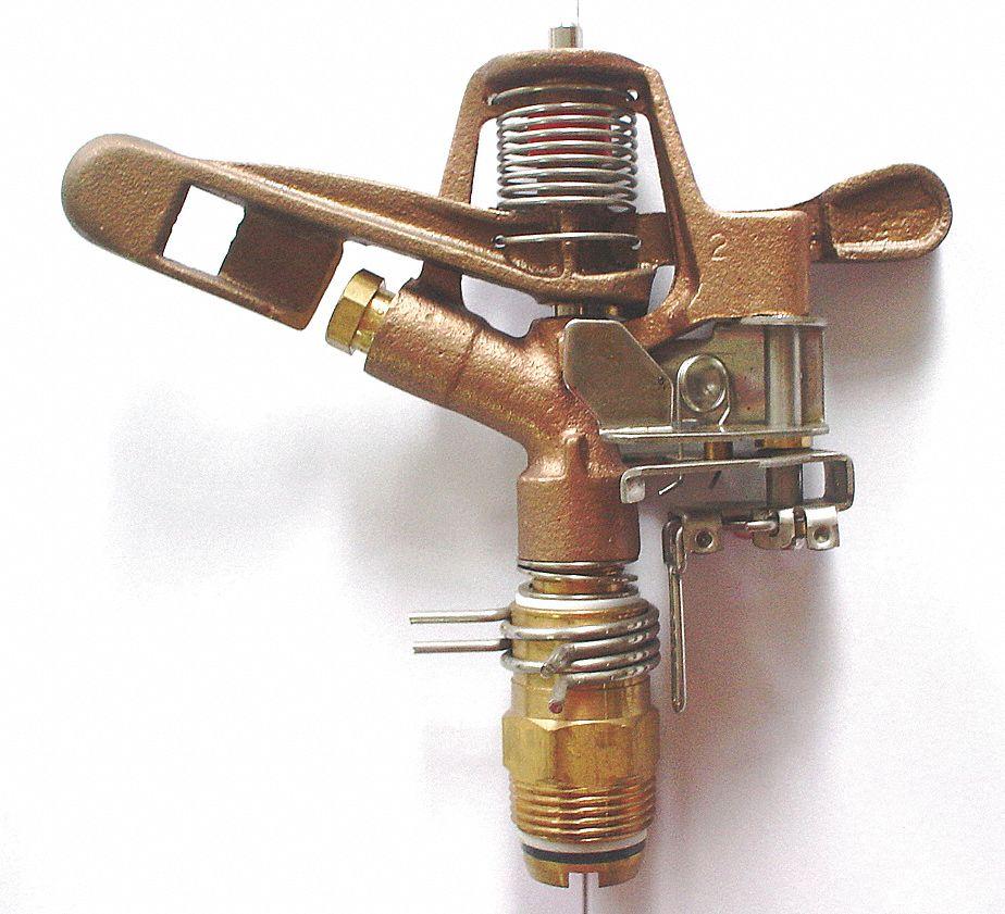 Brass MNPT 1 in Sprinkler Head
