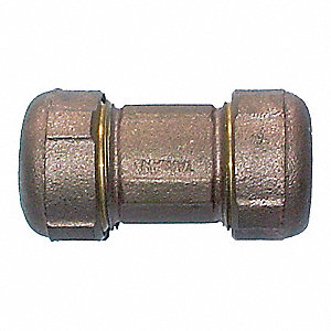 Compression Union,3/4 In,Brass