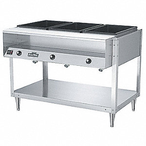Hot Food Table, 61 1/4 x 32