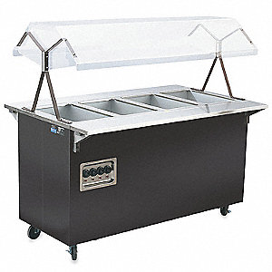 Portable Hot Food Station, 60 x 24