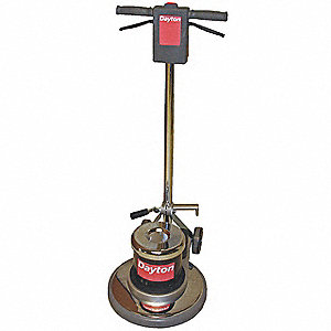 Floor Scrubber,Single,17 In,1.5HP,175rpm