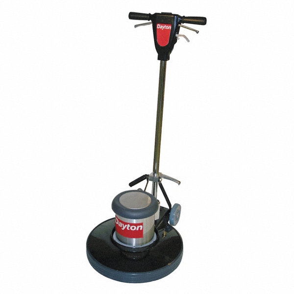 Dayton Floor Scrubber Dual 20 In 1 5 Hp 185 330 4nek1