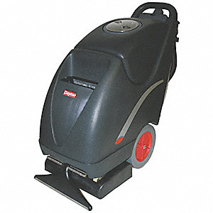 "Walk Behind Carpet Extractor, 10 gal., 115V, 100 psi, 16"" Cleaning Path"