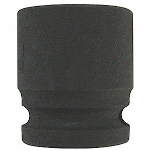 Impact Socket,3/8In Dr,13mm,6pts