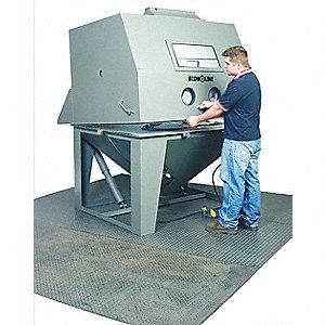 Econoline Siphon Feed Abrasive Blast Cabinet Work