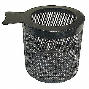 Blast Cabinet Parts Basket,8x8 In
