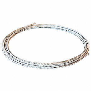 Wire,Robotrax 3D,Round,W0.07In,L6.5Ft
