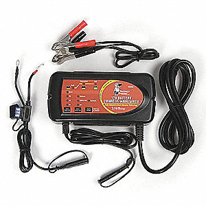 AUTO CHARGER/MAINTAINER,2/4/8 AMP