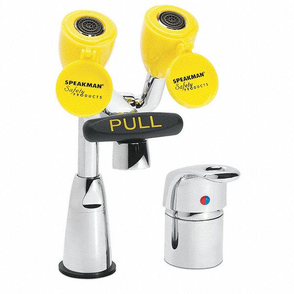 Speakman Rigid Swing Laboratory Faucet With Eyewash