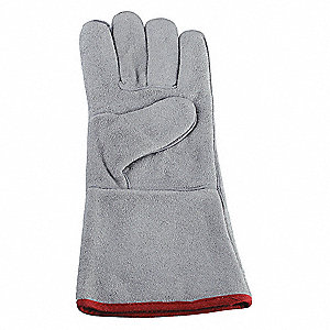 "Welding Gloves, Stick, 14"", XL"
