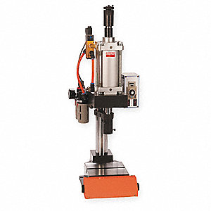 Pneumatic Press,Range 1000 Lbs,8.5 Swin