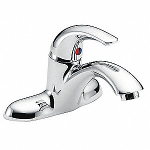 Vandal Resistant Bathroom Faucet, Brass
