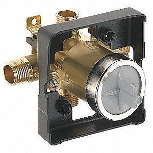 Brass In-Wall Valve Body,