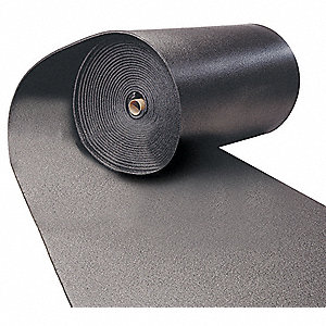 "Polyolefin Insulation Sheet, 36"" x 48"". 3/4"" Thickness, Black"