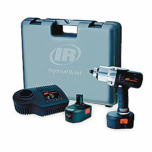 "1/2"" Cordless Impact Wrench Kit, 19.2 Voltage, 360 ft.-lb. Max. Torque, Battery Included"