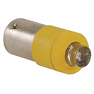 Miniature LED Bulb, BA9s Base,Amber