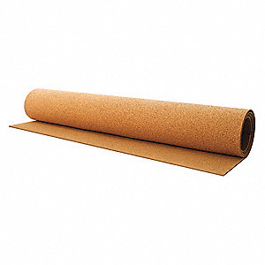 Cork Roll,BB13,5.0mm Th,48 In x 20 Ft