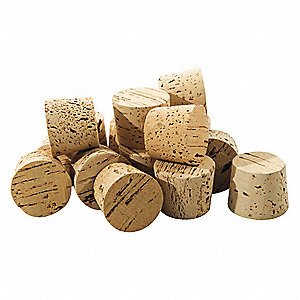 Tapered Cork,Trade Size 26,PK10