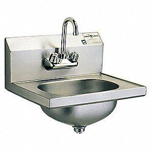 Eagle Group Stainless Steel Hand Sink With Faucet Wall Mounting