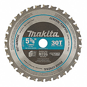 Makita crclr saw bldcrbde5 38 in30 teeth 4nnn9a 95037 grainger crclr saw bldcrbde5 38 in30 teeth greentooth Images