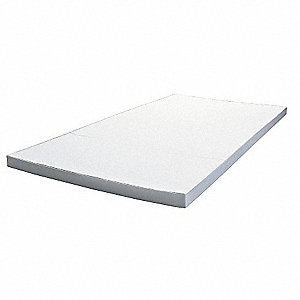 "Melamine Foam Insulation Sheet, 48"" x 96"". 1-1/2"" Thickness, White"
