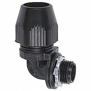Bullet Connector,1-1/2 In.,Thermoplastic
