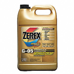 Antifreeze Coolant,1 gal.,Concentrated