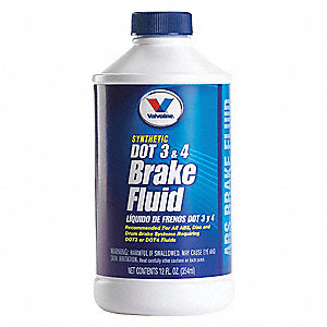 12 oz. Plastic Brake Fluid