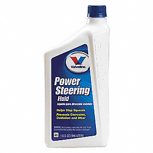 1 qt. Plastic Power Steering Fluid, Amber