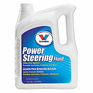1 gal. Plastic Power Steering Fluid, Amber