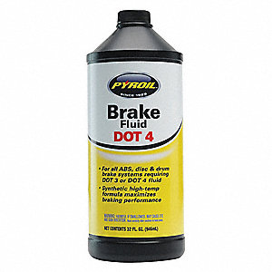 1 qt. Plastic Brake Fluid