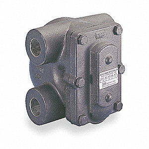 Steam Trap, 30 psi, 1900 Lbs/Hr,Max. Temp. 406°F