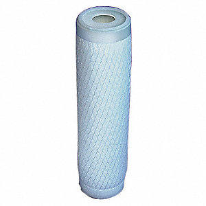 "70 Micron Rating Melt Blown Filter Cartridge, 2-9/16"" Diameter, 20"" Height, 10.00 gpm"
