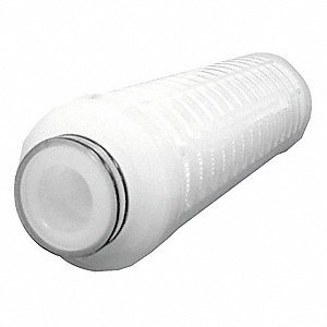 "3 Micron Rating Filter Cartridge with 222 O-Ring, 2-3/4"" Diameter, 11-1/8"" Height, 5.00 gpm"