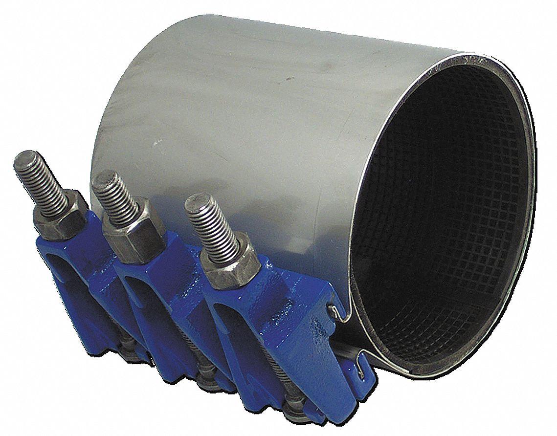 Smith-blair 22600035007000 Full Circle 7-1//2inx3.46-3.70in Od Pipe Repair Clamp