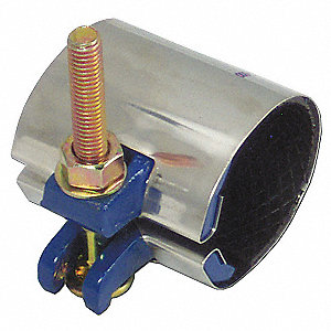 "Redi-Clamp Repair Clamp, 2"" Pipe Size, Fits Outside Dia. 2.38"""