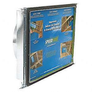 Vent Boot Hanger,Sq to Rnd,12 x 12,Dia 8