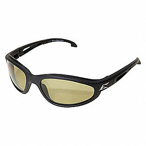Dakura Scratch-Resistant Polarized Safety Eyewear, Yellow Lens Color