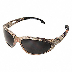 Scratch-Resistant Polarized Safety Eyewear, Smoke Lens Color