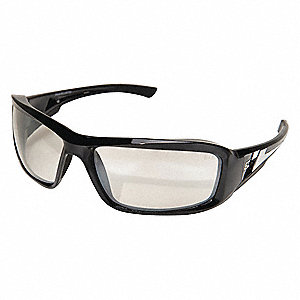 Brazeau Scratch-Resistant Safety Glasses, Gray Lens Color
