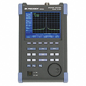 Spectrum Analyzer, 50 kHz to 3.3 GHz Frequency Range, 20 kHz Frequency Resolution